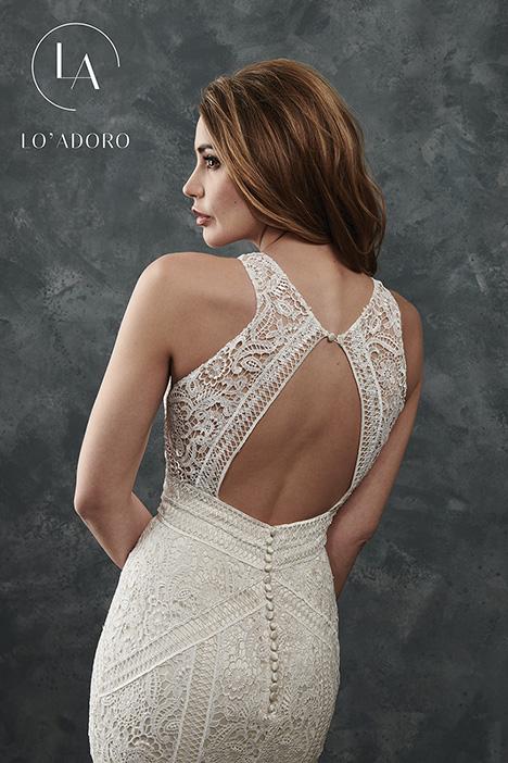 M656 (back) Wedding                                          dress by Lo' Adoro