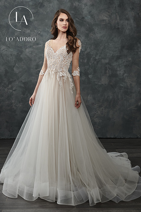 M657 Wedding dress by Lo' Adoro