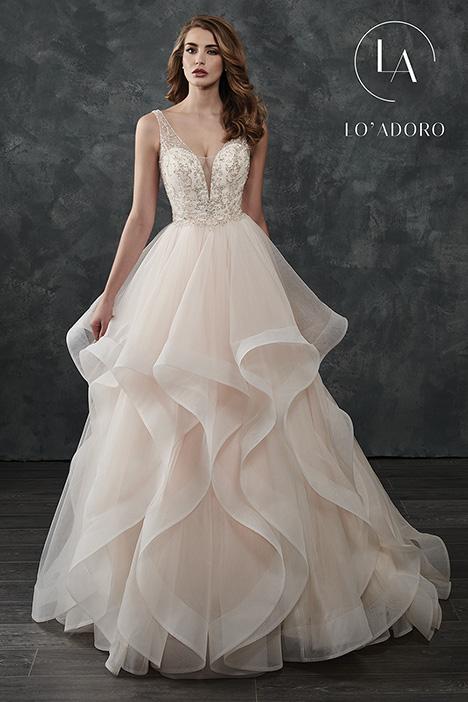M664 Wedding dress by Lo' Adoro