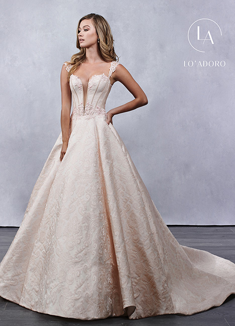 M682 Wedding                                          dress by Lo' Adoro