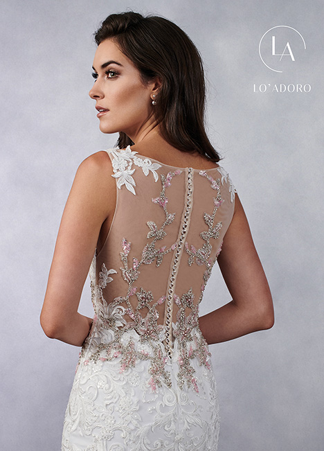 M687 (back) Wedding                                          dress by Lo' Adoro