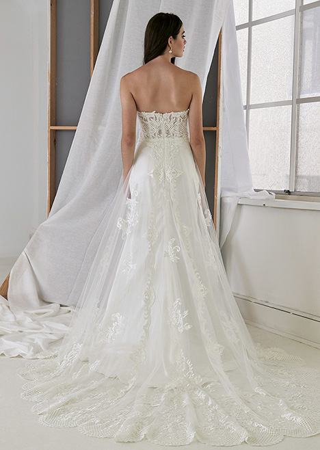 CZ2497 Back Wedding                                          dress by Cizzy Bridal