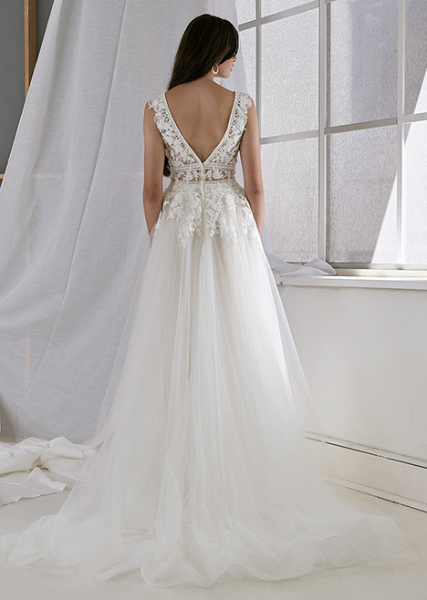 CZ2498 Back Wedding                                          dress by Cizzy Bridal