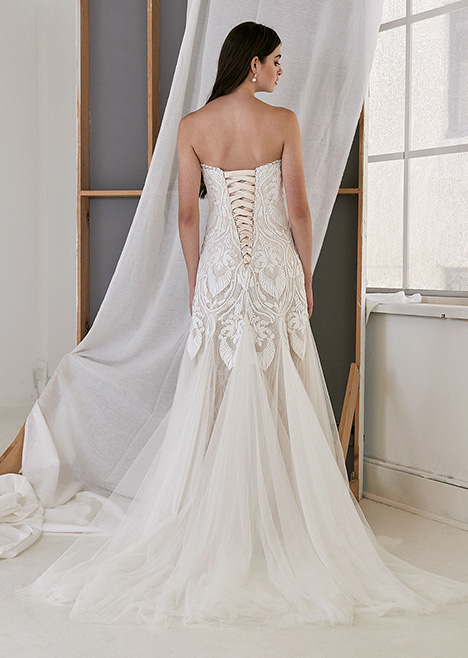 CZ2499 Back Wedding                                          dress by Cizzy Bridal