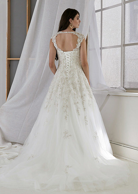 CZ 2502 Back Wedding                                          dress by Cizzy Bridal