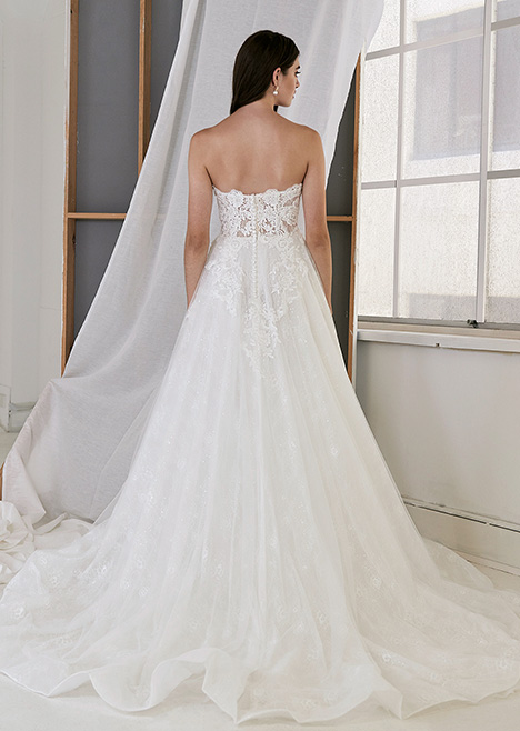 CZ 6086 Back Wedding                                          dress by Cizzy Bridal