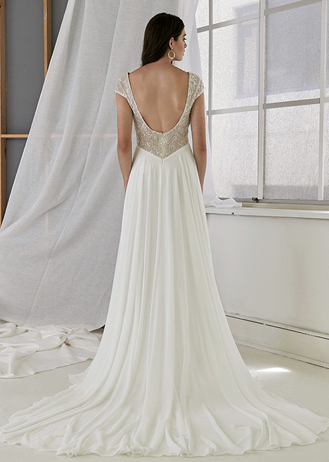 CZ 6095 Back Wedding                                          dress by Cizzy Bridal