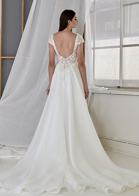 CZ 6115 Back Wedding                                          dress by Cizzy Bridal