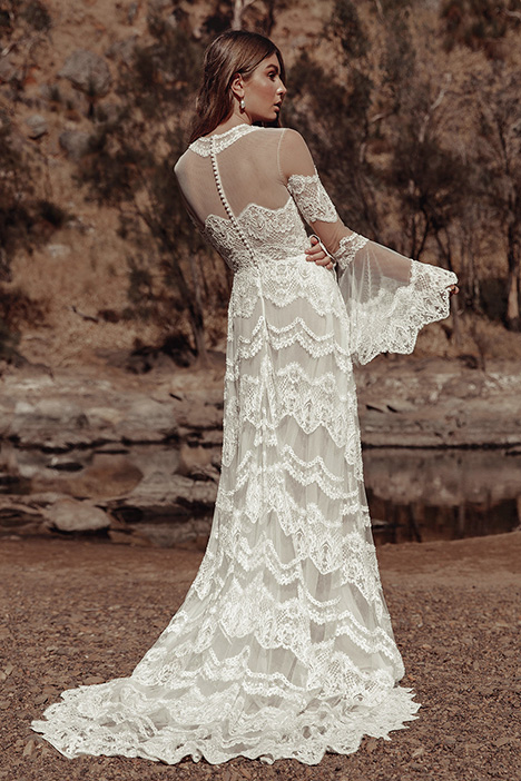 WA 285 Back Wedding                                          dress by White April