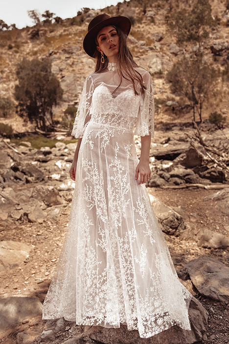 WA 6117 Wedding                                          dress by White April