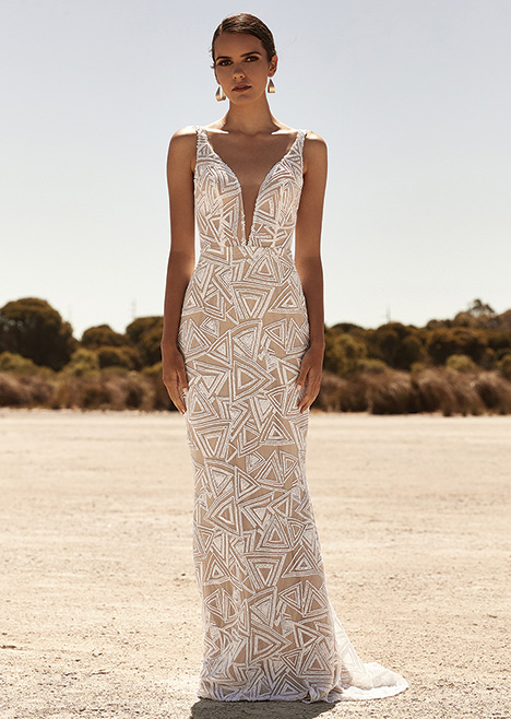 ZB231D Wedding                                          dress by Zavana Bridal