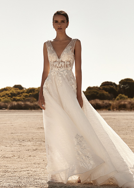 ZB 272 Wedding                                          dress by Zavana Bridal