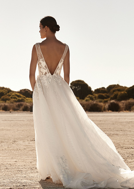 ZB 272 Back Wedding                                          dress by Zavana Bridal