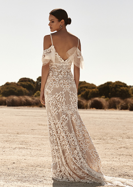 ZB 276 Back Wedding                                          dress by Zavana Bridal