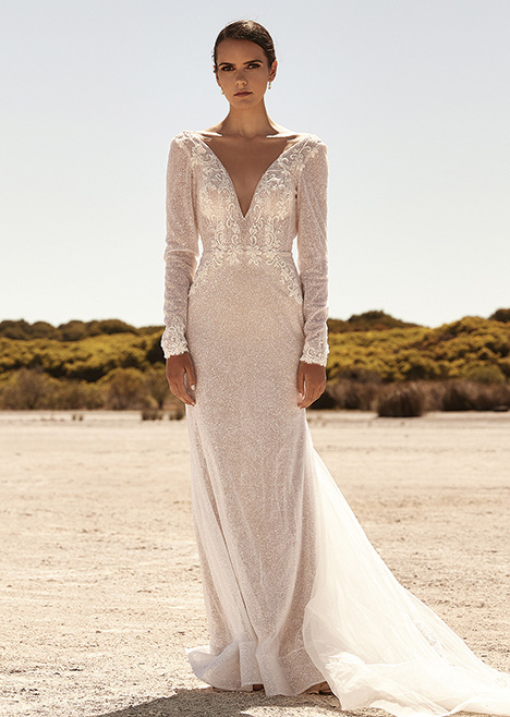 ZB 284 Wedding                                          dress by Zavana Bridal
