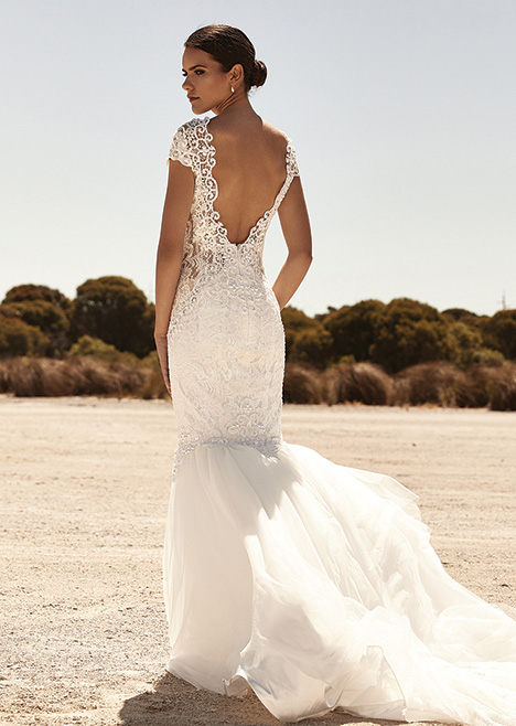 ZB 304 Back Wedding                                          dress by Zavana Bridal
