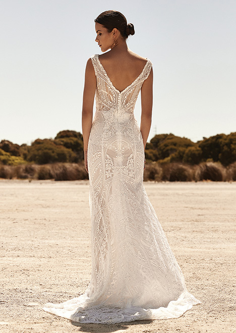 ZB 310 Back Wedding                                          dress by Zavana Bridal