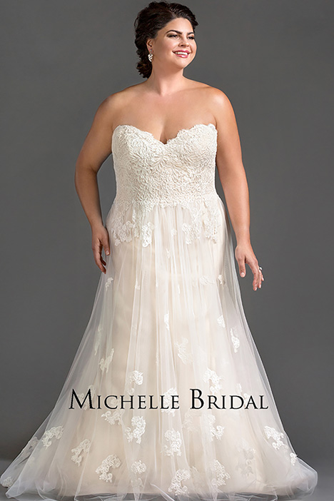 MB 1607 Wedding                                          dress by Michelle Bridal+