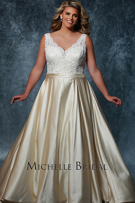 MB 1709 Wedding                                          dress by Michelle Bridal+