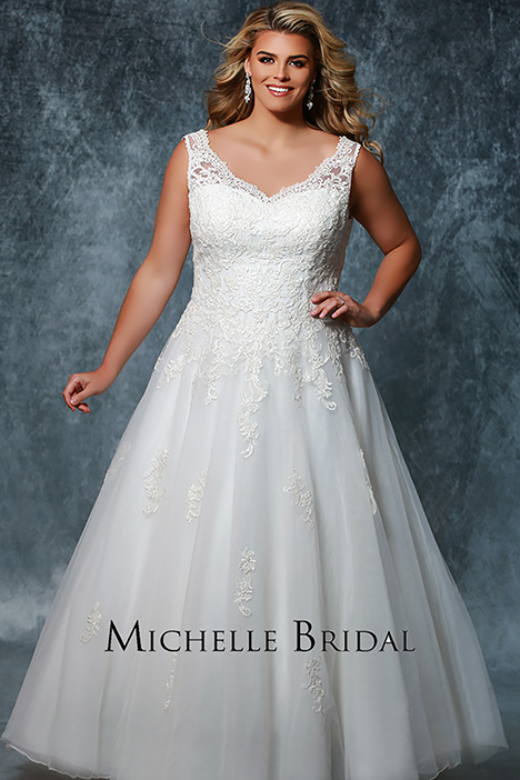 MB 1712 Wedding dress by Michelle Bridal+