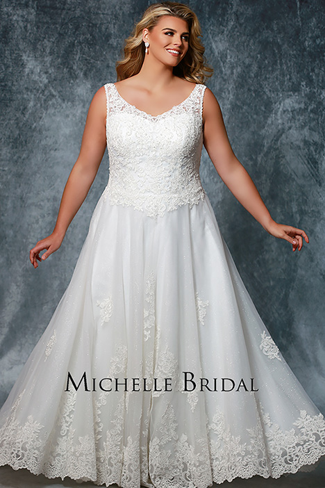 MB 1809 Wedding                                          dress by Michelle Bridal+