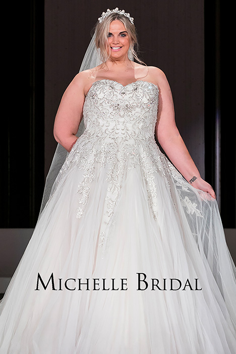 MB 1819 Wedding dress by Michelle Bridal+