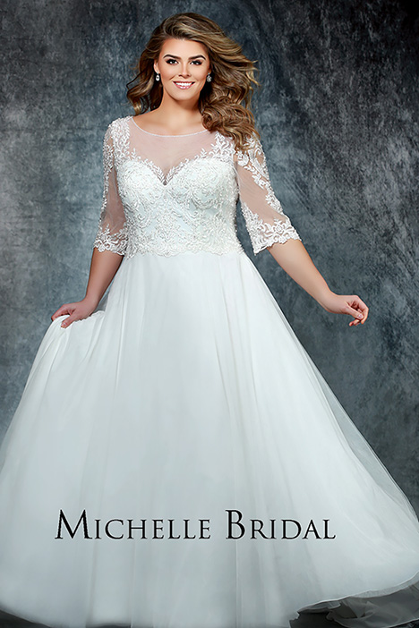 MB 1902 Wedding                                          dress by Michelle Bridal+