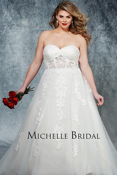 MB 1903 Wedding                                          dress by Michelle Bridal+