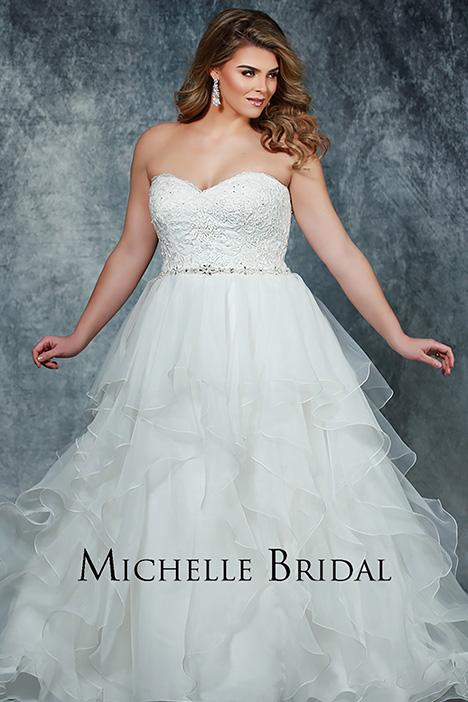 MB 1905 Wedding                                          dress by Michelle Bridal+