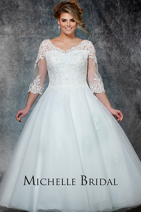 MB 1906 Wedding                                          dress by Michelle Bridal+