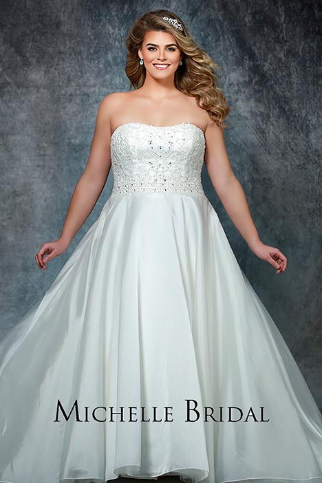 MB 1907 Wedding                                          dress by Michelle Bridal+