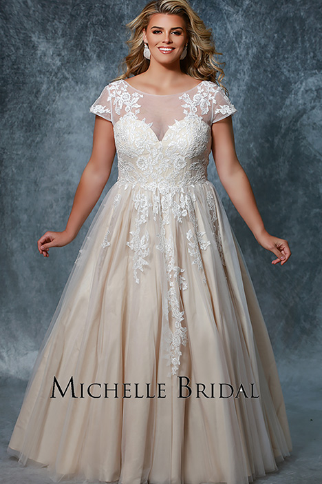 MB 1912 Wedding dress by Michelle Bridal+