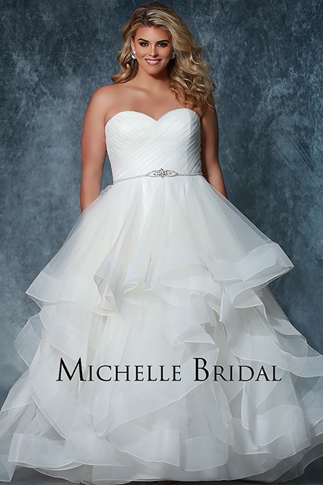MB 1913 Wedding                                          dress by Michelle Bridal+