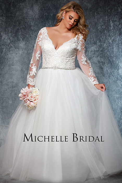 MB 1915 Wedding                                          dress by Michelle Bridal+