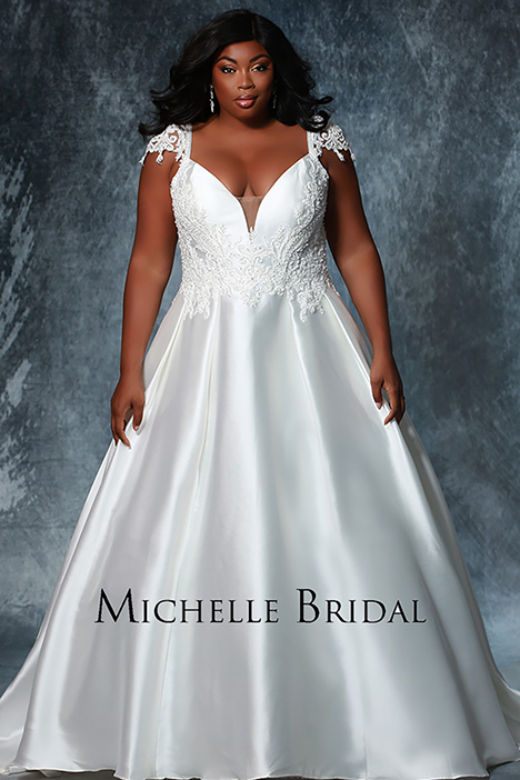 MB 1917 Wedding                                          dress by Michelle Bridal+