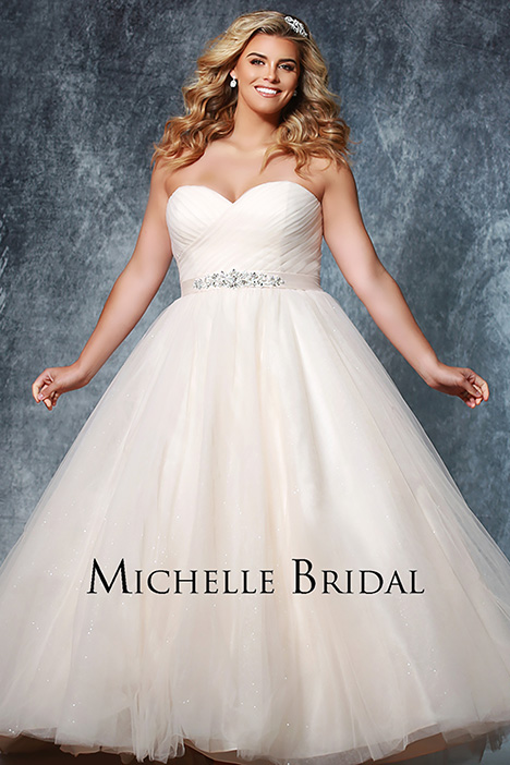MB 1918 Wedding dress by Michelle Bridal+