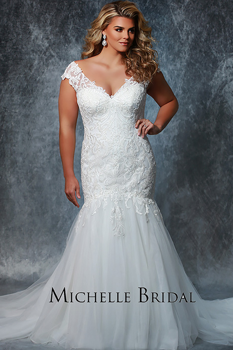 MB 1919 Wedding                                          dress by Michelle Bridal+