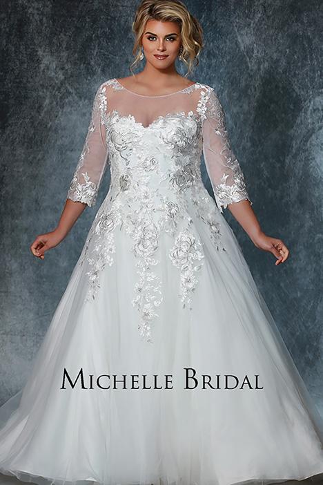 MB 1920 Wedding                                          dress by Michelle Bridal+