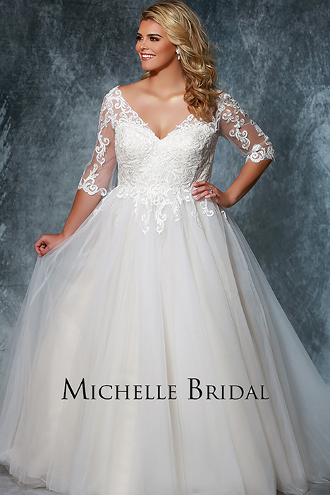 MB 1922 Wedding                                          dress by Michelle Bridal+