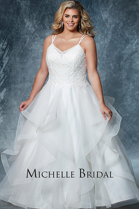 MB 1923 gown from the 2019 Michelle Bridal+ collection, as seen on dressfinder.ca