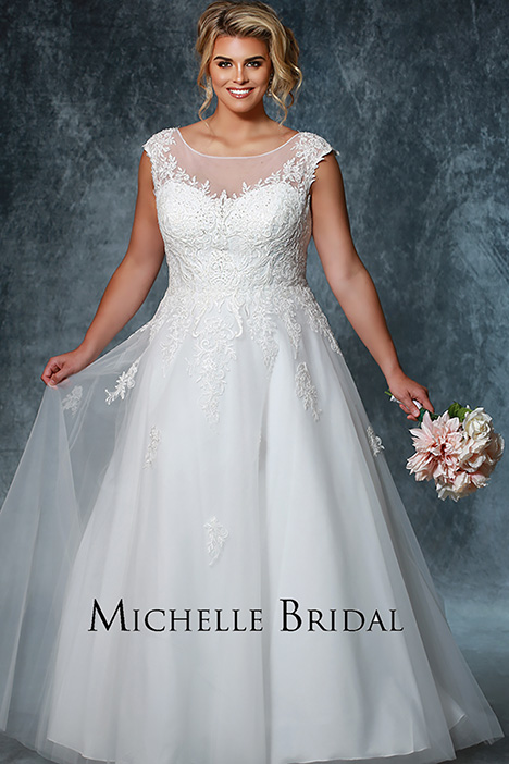 MB 1924 Wedding                                          dress by Michelle Bridal+