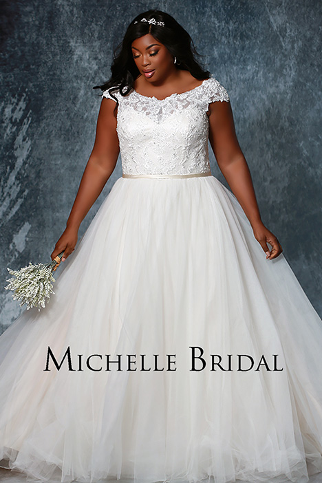 MB 1926 Wedding                                          dress by Michelle Bridal+