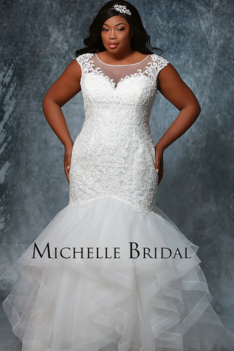 MB 1928 Wedding                                          dress by Michelle Bridal+