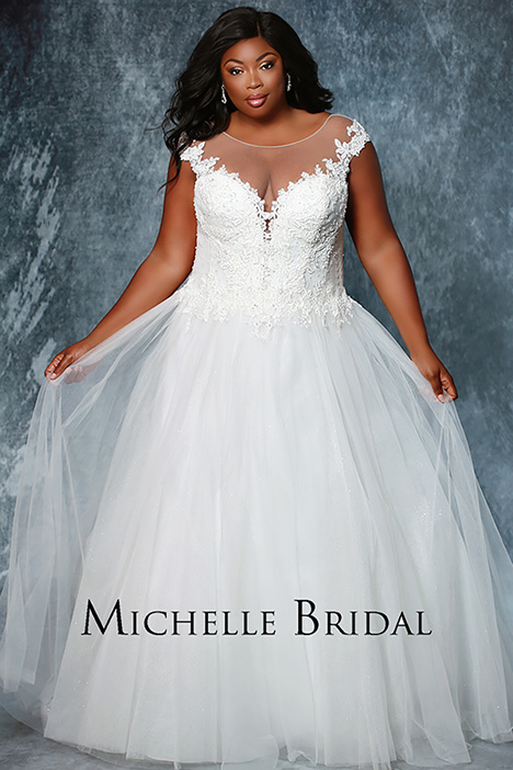 MB 1930 Wedding                                          dress by Michelle Bridal+