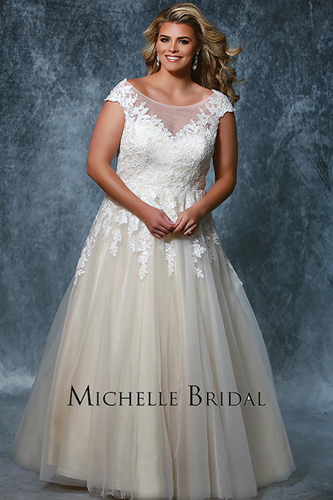 MB 1931 Wedding                                          dress by Michelle Bridal+