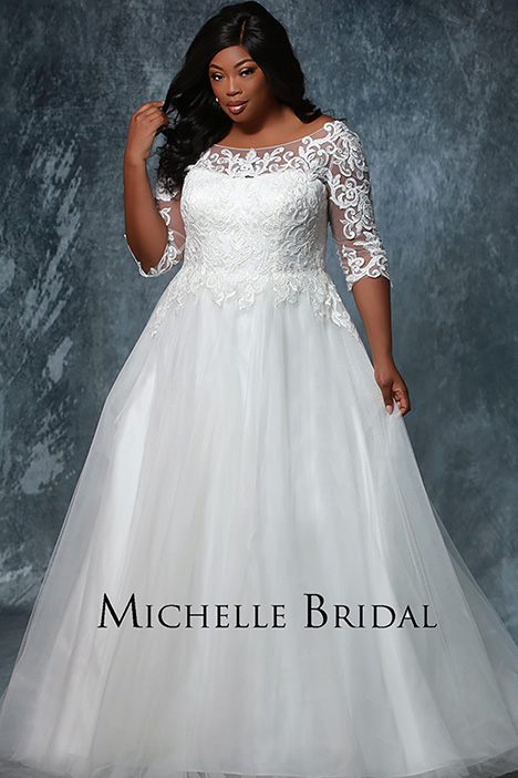 MB 1933 Wedding                                          dress by Michelle Bridal+