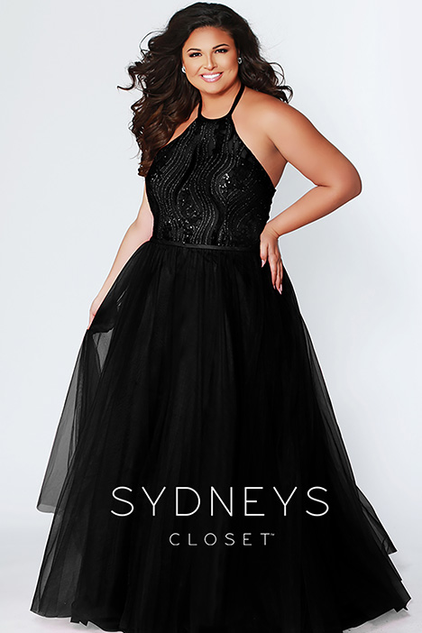 SC 7260 Black Prom                                             dress by Sydney's Closet Prom+
