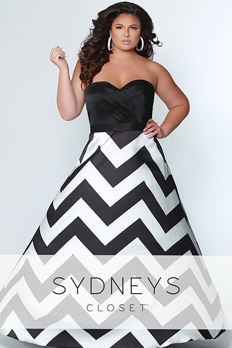 SC 7264 Prom                                             dress by Sydney's Closet Prom+