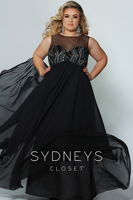 SC 7266 Prom dress by Sydney's Closet Prom+