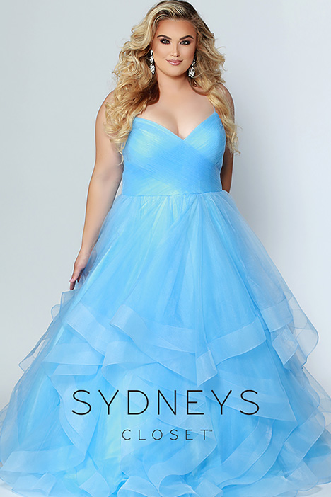 SC 7268 Blue Prom                                             dress by Sydney's Closet Prom+